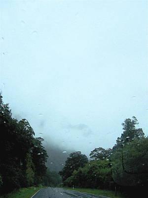 Rain Forest Rain Art Print