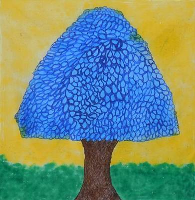 Mixed Media - Rain Harmony Tree by Art Abbey