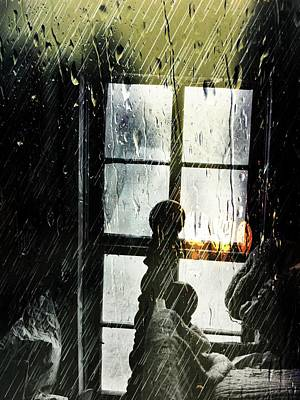 Digital Art - Rain In My Heart by Robert Grubbs