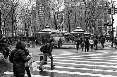 Photograph - Rain In New York by Jim Orr