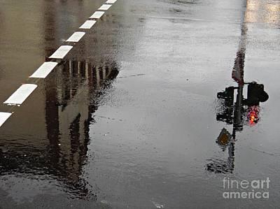 Photograph - Rain In Schierstein 1 by Sarah Loft