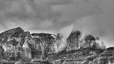Photograph - Rain In Sedona by Robert Melvin