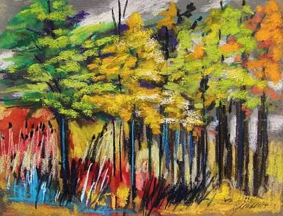 Rain In The Trees Art Print by John Williams