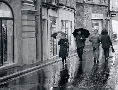Photograph - Rain by Jessica Levant