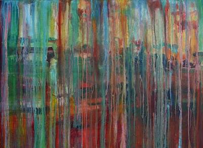 Painting - Rain by Jill Tennison