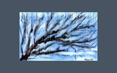 Painting - Rain by Karunita Kapoor