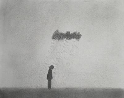 Rain Art Print by Keith Straley