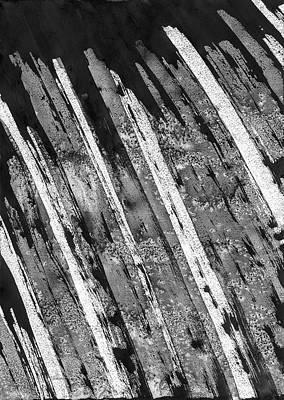 Painting - Rain Of Burning Steel by Hakon Soreide