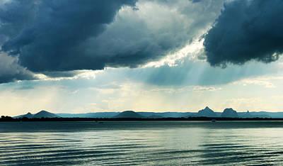 Photograph - Rain On The Glass Mountains by Susan Vineyard