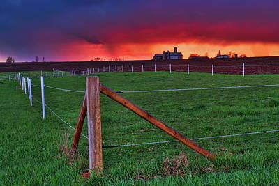 Photograph - Rain On The Horizon by Dale Kauzlaric