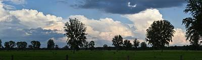 Photograph - Rain On The Horizon by rd Erickson