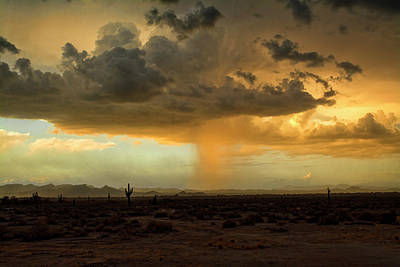 Photograph - Rain On The Horizon  by Saija Lehtonen