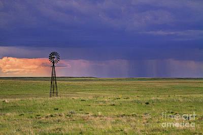 Photograph - Rain On The Plains by Jim Garrison