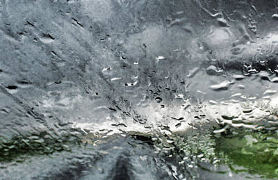 Digital Art - Rain On The Windshield by Aliceann Carlton