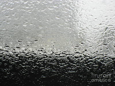 Photograph - Rain On The Windshield by Karen Sydney
