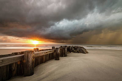 South Photograph - New Beginnings, Pawleys Island Sunrise by Ivo Kerssemakers