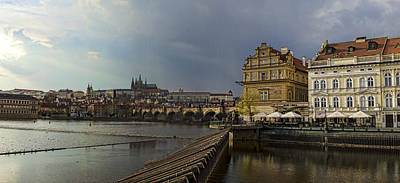 Photograph - Rain Over Prague by Heather Applegate