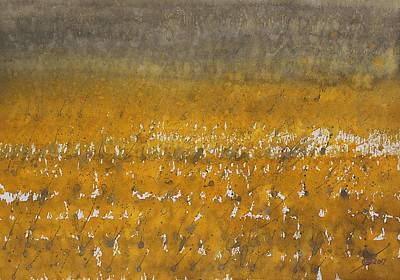 Painting - Rain Over The Marsh by Sol Luckman