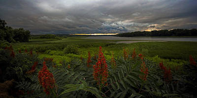 Photograph - Rain Over The Mohawk by Neil Shapiro