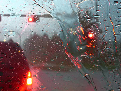 Photograph - Rain by Rhonda McDougall