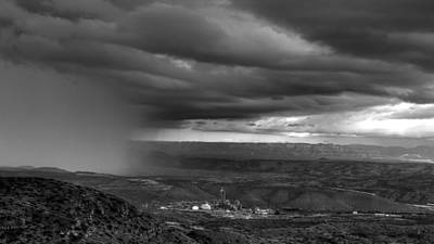 Photograph - Rain Squall Over Jerome by Robert Melvin