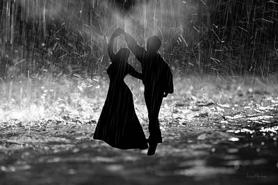 Photograph - Rain Storm Dance by Ericamaxine Price