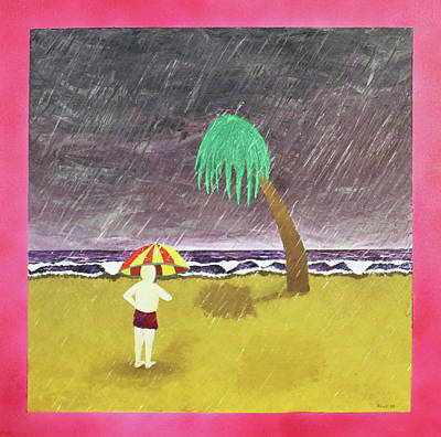 Painting - Rain by Thomas Blood