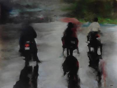 Pastel - Rain Travels by Carrie Diaz