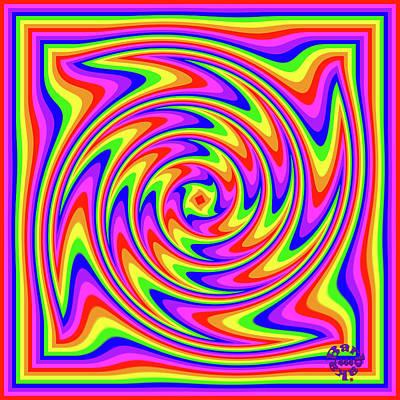Digital Art - Rainbow #2 by Barbara Tristan