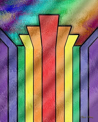 Digital Art - Rainbow 4 by Chuck Staley