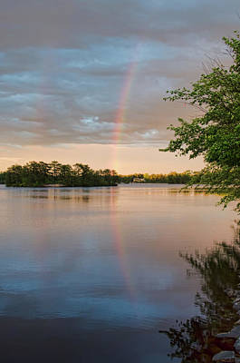 Photograph - Rainbow After The Storm by Beth Sawickie