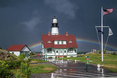 Photograph - Rainbow After The Storm by Darryl Hendricks