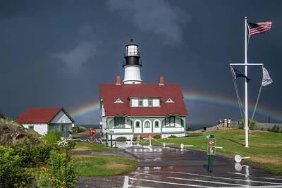 Photograph - Rainbow After The Storm by Darryl Hendricks