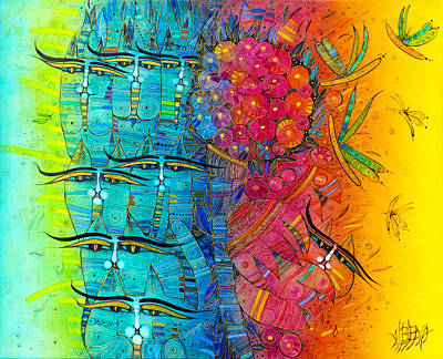 Painting - Rainbow by Albena Vatcheva