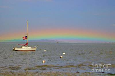 Photograph - Rainbow by Amazing Jules
