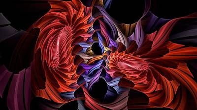 Digital Art - Rainbow Assembler by Doug Morgan