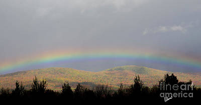 Photograph - Rainbow At Sugarloaf by Alana Ranney