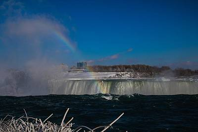 Photograph - Rainbow At The Edge by Perggals - Stacey Turner