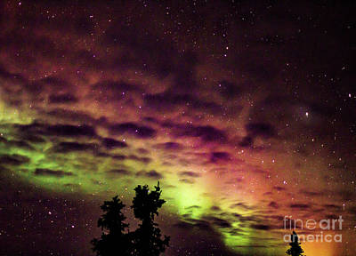 Wall Art - Photograph - Rainbow Aurora II by Elaine J Hoffman