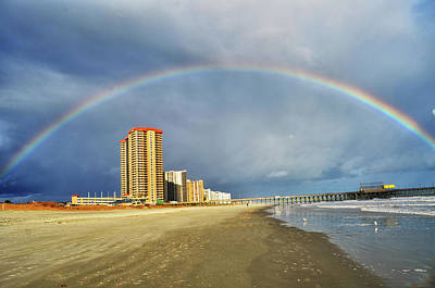 Photograph - Rainbow Beach by Kelly Reber