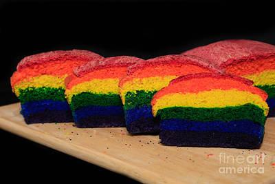Rainbow Bread Original by Tracy Hall