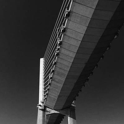 Photograph - Veteran's Memorial Bridge by Adam Graser