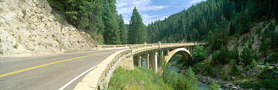 Civil Engineering Photograph - Rainbow Bridge, Highway 55, Payette by Panoramic Images