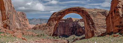 Photograph - Rainbow Bridge Panorama by Teresa Wilson