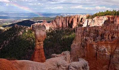 Rainbow Bryce Canyon Art Print