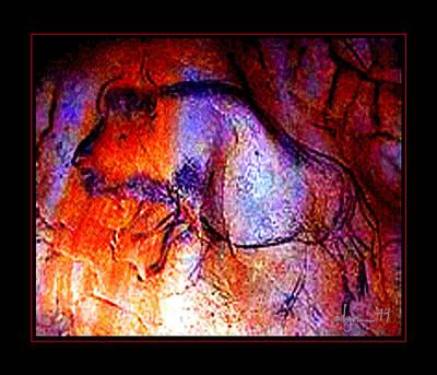 Painting - Rainbow Bull by Angela Treat Lyon