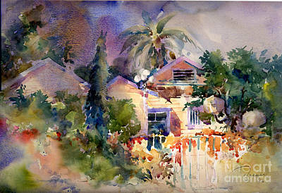 Painting - Rainbow Canyon Cottage by John Byram