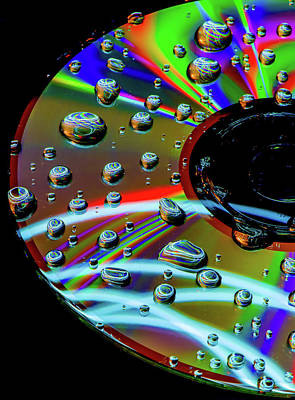 Photograph - Rainbow Cd by Patrice Bilesimo