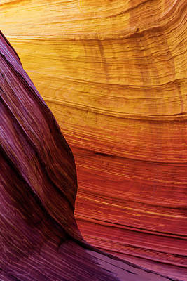Geology Photograph - Rainbow by Chad Dutson