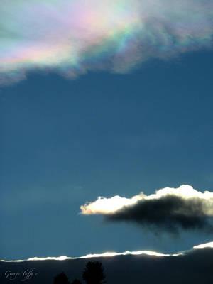 Photograph - Rainbow Cloud by George Tuffy